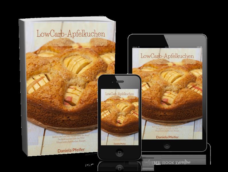 Apfelkuchen, LowCarb-Kuchen, Freebie